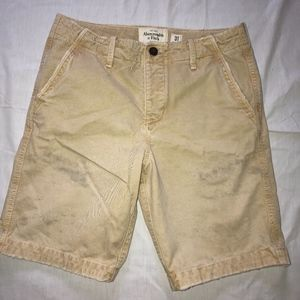 ABERCROMBIE & FITCH brushed cotton shorts/NICE